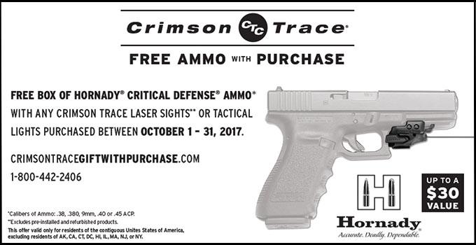 Free Ammo Promotion Coupon