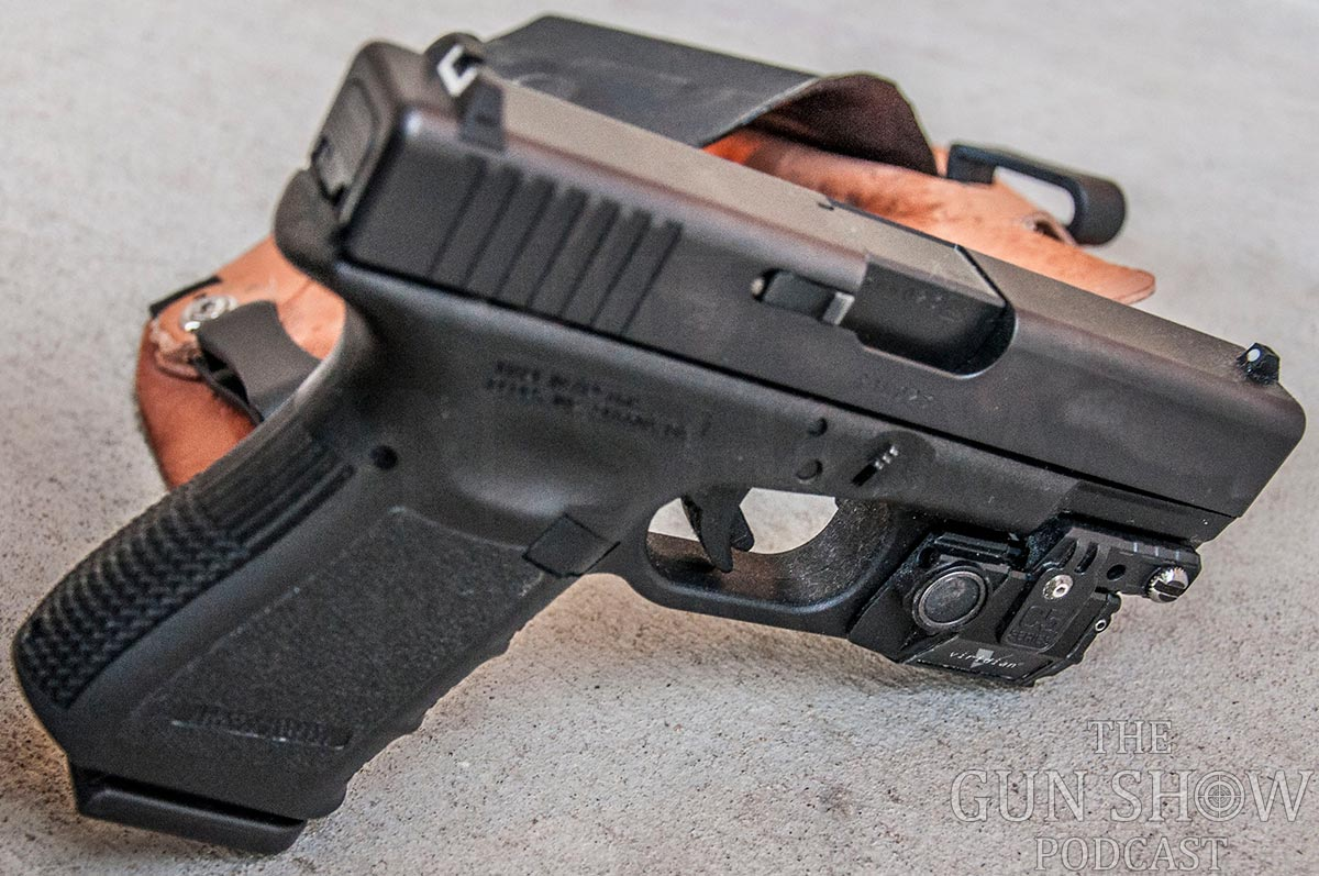With the all the straight lines the Glock 19 balances nicely for photos!