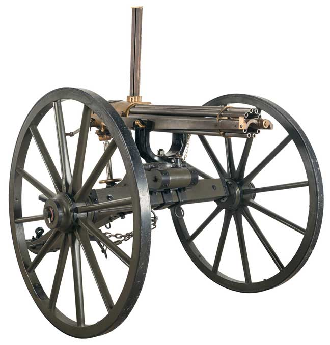 Model 1874 Gatling Gun