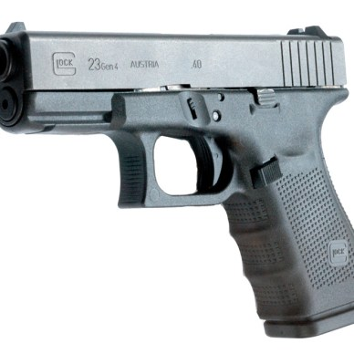 Glock 23 left angled