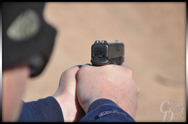 Glock 30S Aiming