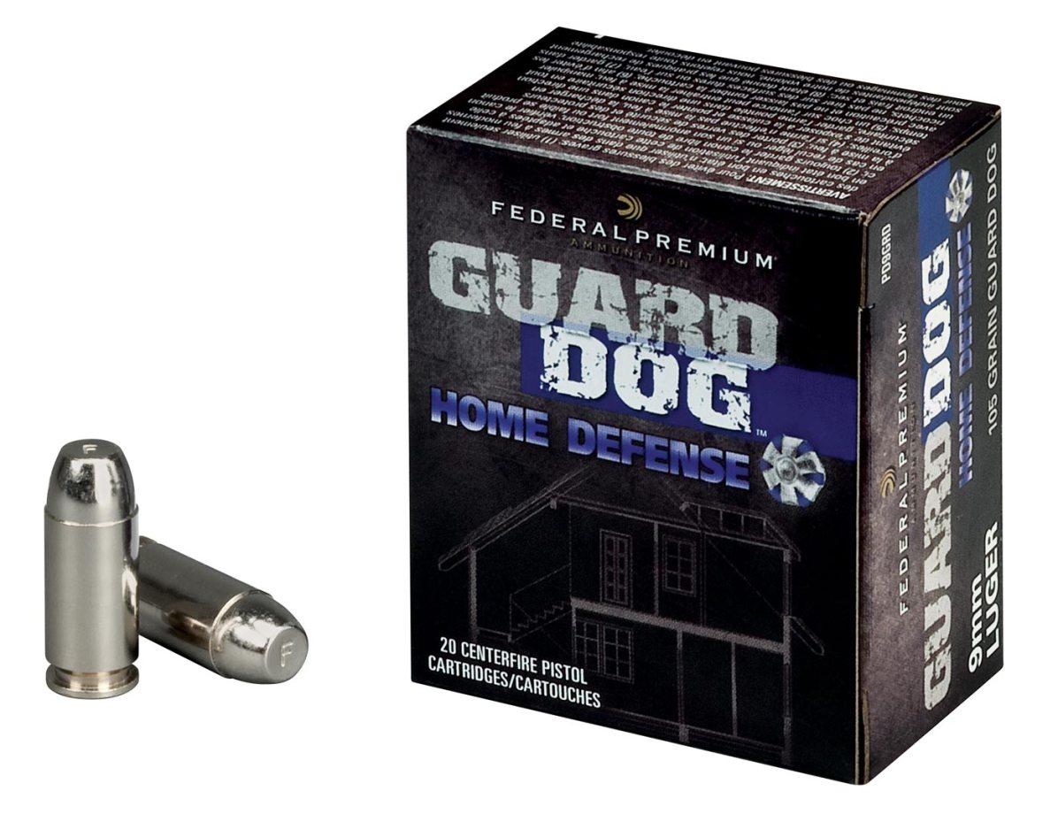 Federal Guard Dog Ammunition Box and Cartridges
