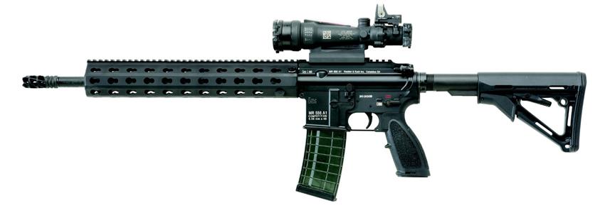 Heckler & Koch Competition Model AR-15 black rifle