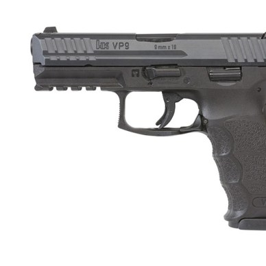HK VP9 pistol left side