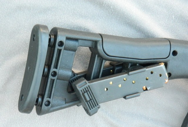 Hi Point Carbine buttstock with magazines attached