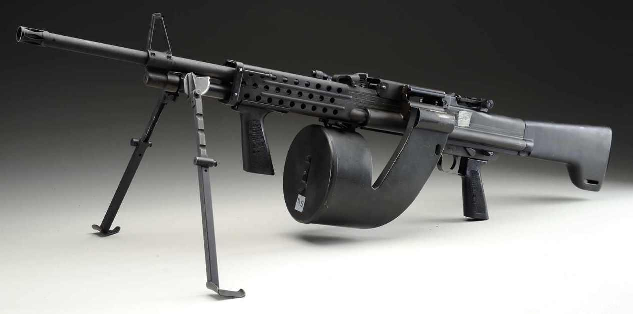 Colt CMG 3 Machine Gun