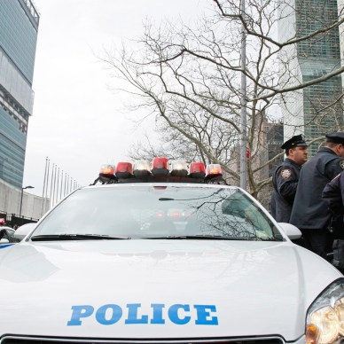 NYCPD police scramble to answer a terror threat.