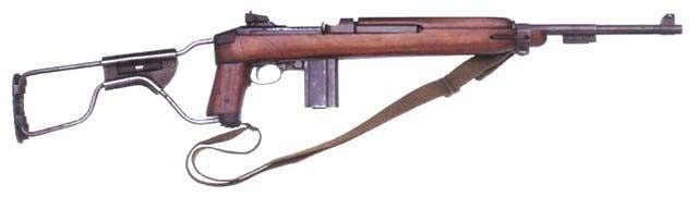 Classic M1A Carbine with wood forend and metal folding stock