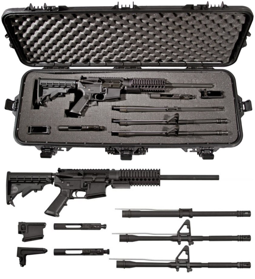 MG Industries Survival Package MARCK-15 rifle