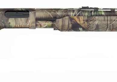 Mossberg 500 Turkey shotgun mossy oak camo right side