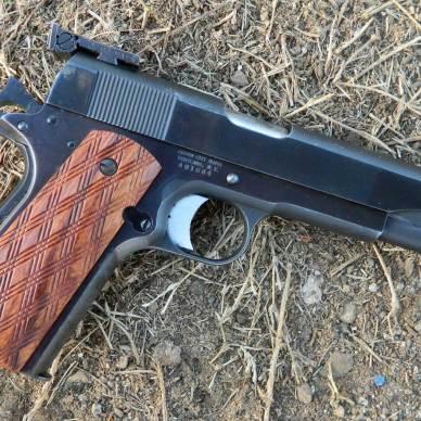 Bullseye 1911 pistol