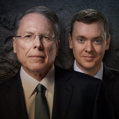 Portrait of Chris Cox and Wayne LaPierre