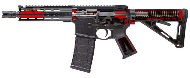 PWS MK1 Mod 0 rifle left side