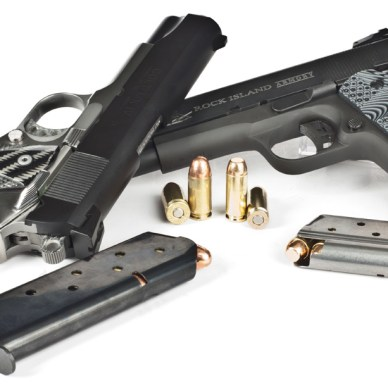 The Old and the New: Colt Combat Commander Mark IV and the RIA Tactical II