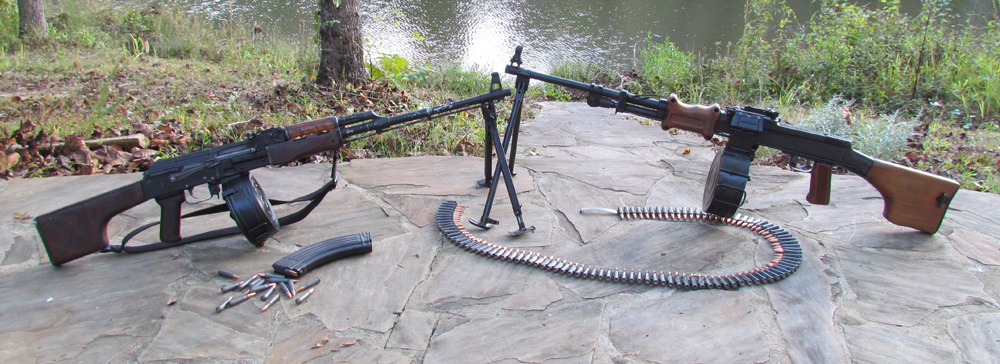 RPK and AKM Machine guns
