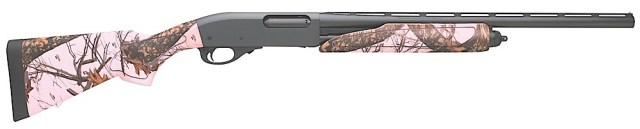 Remington 870 Express Compact with pink Mossy Oak camo