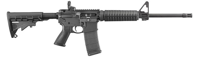 Ruger AR-556 right profile
