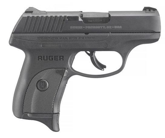 Ruger LC9s Pro, striker-fired handgun