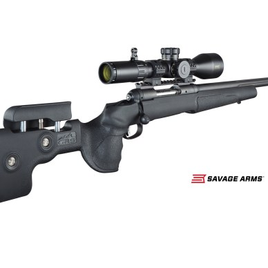Savage Arms Model 10 GRS rifle right angled