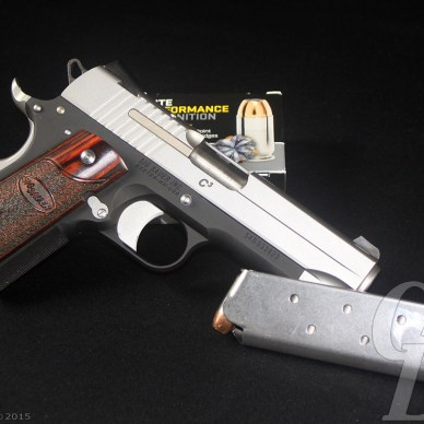 SIG Sauer C3 with loaded magazine