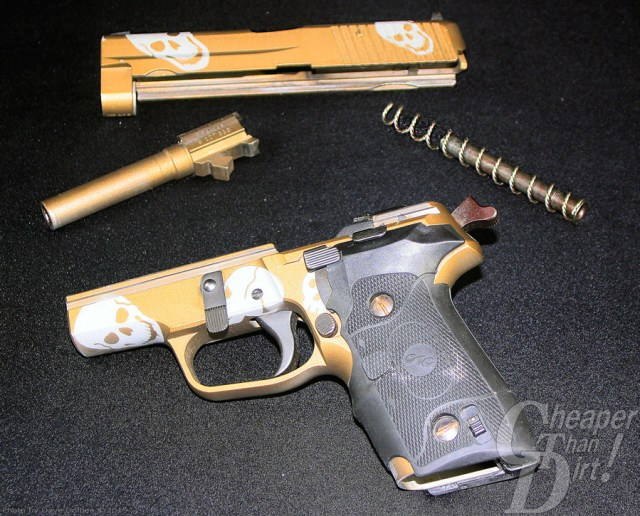 SIG P228 field stripped