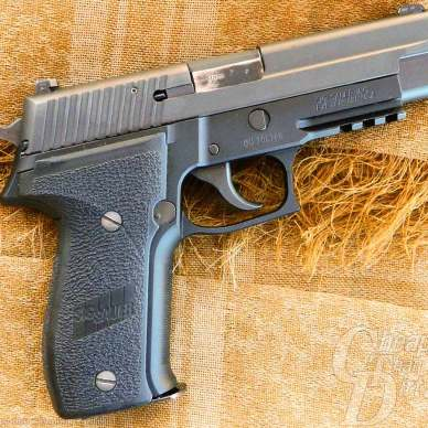 The SIG P226 Navy Model