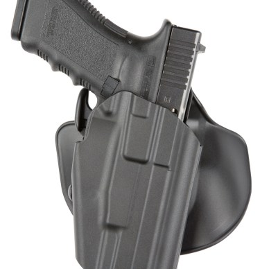 Safariland 578 GLS holster with Glock pistol