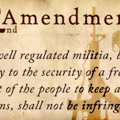 Second Amendment document