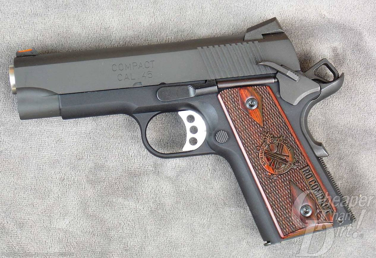 Range Report: Springfield Range Officer Compact 1911 - The