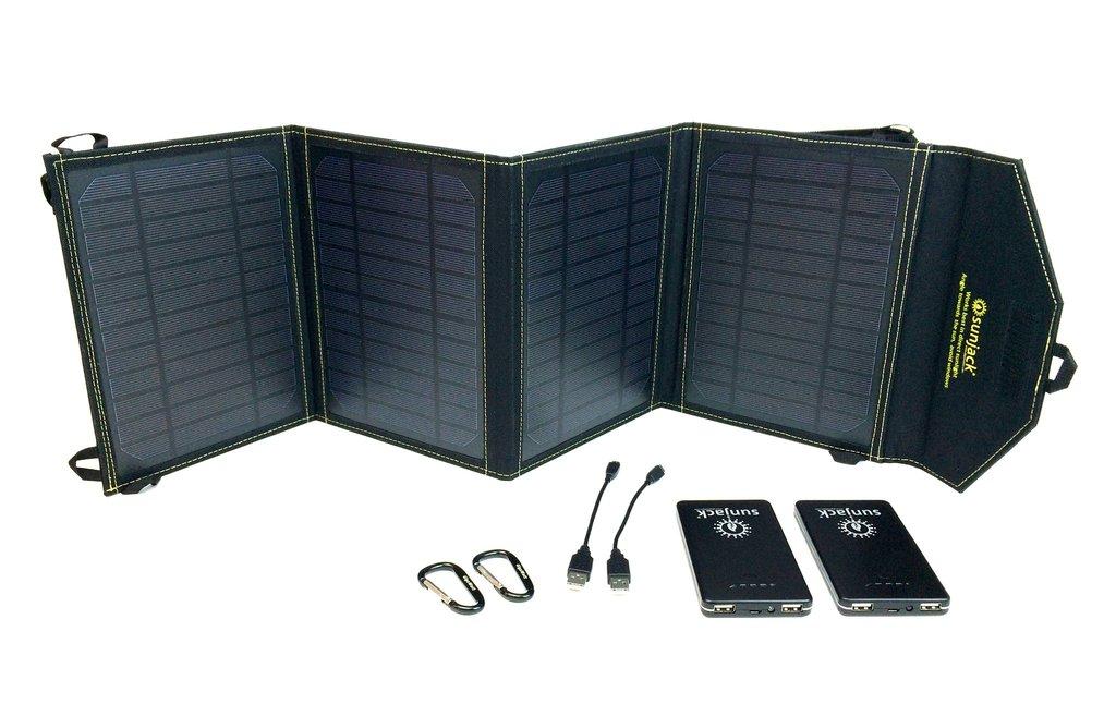 SunJack 14W +8000mAh Battery