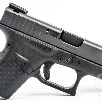 GLock 42 side view with TruGlo Brite Site TFO