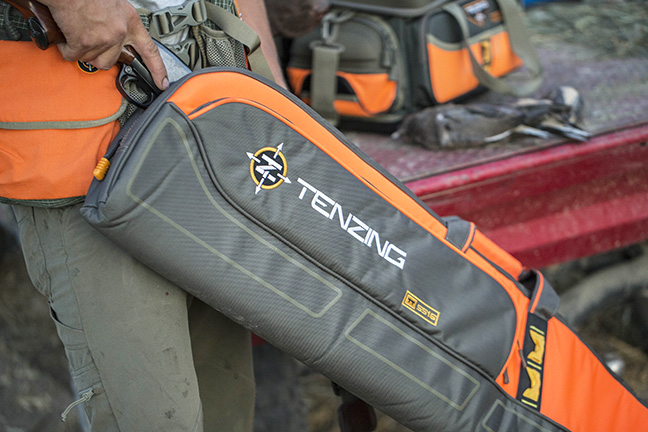 Tenzing TZ UPSCB 52 Upland Shotgun Case with orange