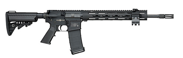M&P15 VTAC II rifle right side profile ar-15