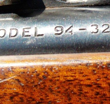 Barrel stamp on the Winchester Model 1894