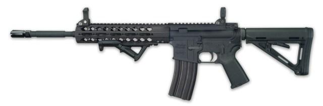 Windham Weaponry CDI AR-15 rifle black left side profile
