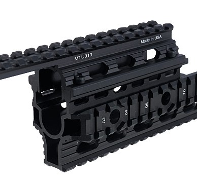 AK quad rail handguard