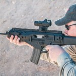 Dave Dolbee shooting the ARX-100
