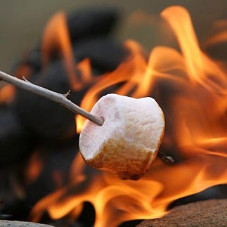 Everything tastes better over an open flame.