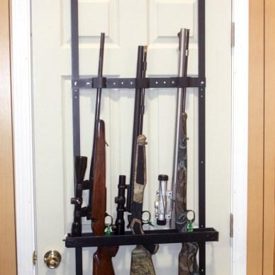 Great Day Over-the-Door Rifle Rack