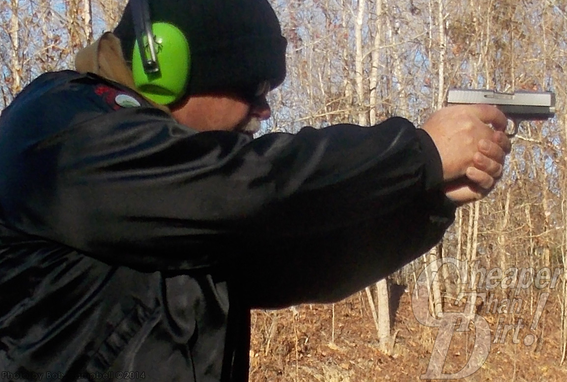 Kahr CW40 at the Range