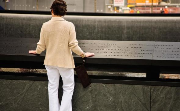 The 9/11 Memorial in New York