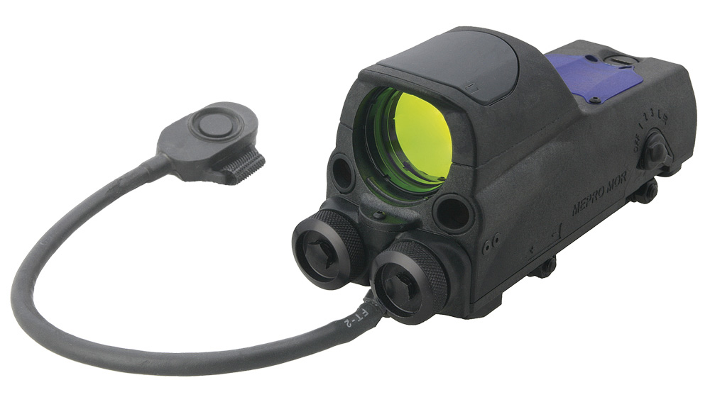 Meprolight MOR tri-powered reflex light with toggle switch
