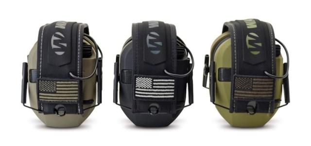 Walker's Game ear Slim Shooter Series of Razor electronic muffs.