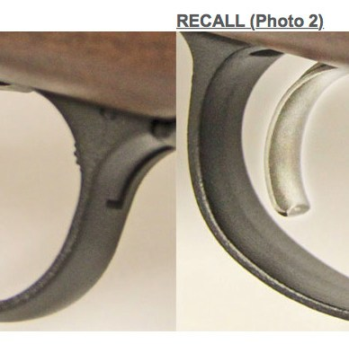 Remington Model 700 Model Seven Trigger Recall