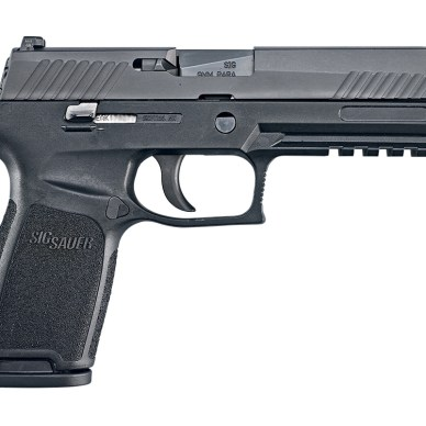 SIG Sauer P320 pistol right