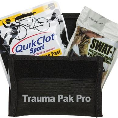 Compact trauma medical kit