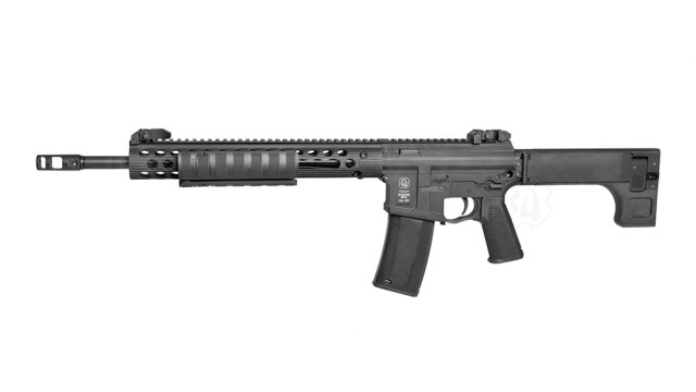 Pump-action rifle that looks like an AR-15