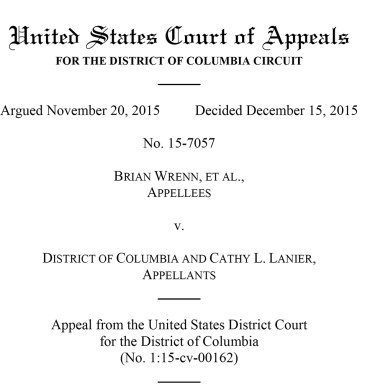 U.S. Court of Appeals writ
