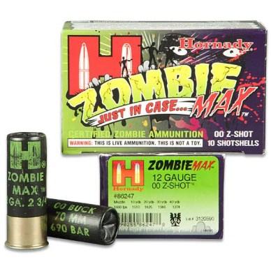 Hornady Zombie Max Buckshot 12-gauge 00 Z-Shot