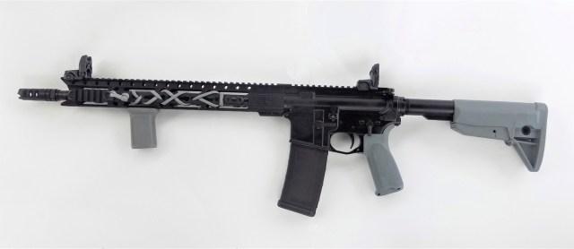 Diamondback DB15 rifle left profile